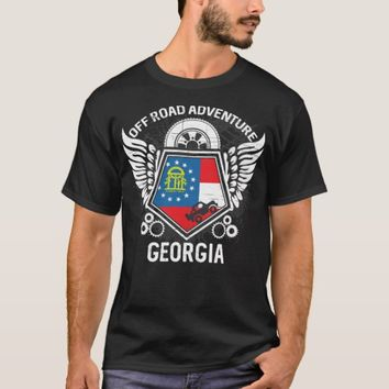 Georgia Off Road Adventure 4x4 Trail Rides Mudding T-Shirt