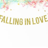 Falling In Love Party Banner