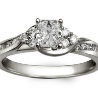 Arielle Princess Ready for Love Diamond Engagement Ring 3/4ct Steven Singer Jewelers