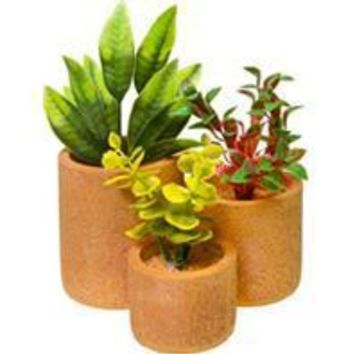 Blue Ribbon Pet Products - Round Flower Pot Garden