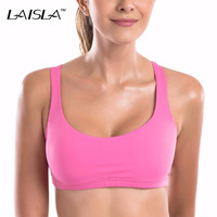 Classic Style Light Support Open Yoga Sport Bra