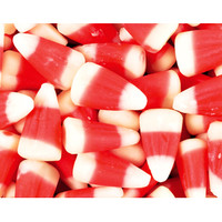 Candy Cane Peppermint Candy Corn: 5LB Bag