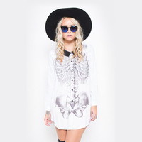 Creepers Button Up Dress