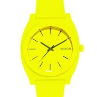 Nixon Time Teller P Neon Yellow Watch at asos.com