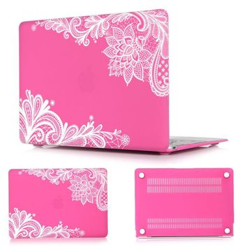 Floral Lace  Macbook Air Case for 11 12 13 Pro 13 15
