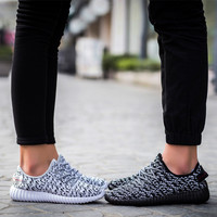 Stylish Comfort On Sale Hot Deal Hot Sale Casual Men's Shoes Korean Couple Shoes Permeable Sneakers [10788545295]