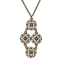 KAI Chandelier Necklace - Bronze