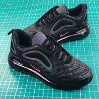 Nike  Air Max 720 Black Red Sport Running Shoes - Best Online Sale