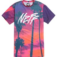Neff Jet Stream T-Shirt - Mens Tee - Blue -