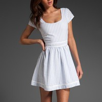 dresses / LUCCA COUTURE Mini Dress in Stripe at Revolve Clothing - Free Shipping!