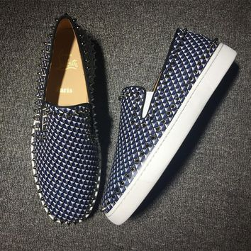 Cl Christian Louboutin Pik Boat Style #2305 Sneakers Fashion Shoes - Best Online Sale