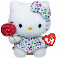 Ty Beanie Baby Hello Kitty - Lollipop:Amazon:Toys & Games