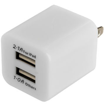 Universal 3.1 amp Travel Wall Adapter - White