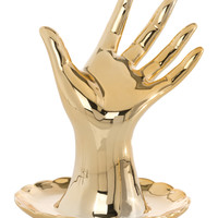 Gold Hand Jewelry Dish