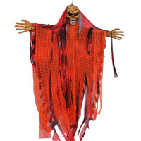 Halloween Prop Hanging Grim Reaper Scary Decoration Outdoor Decor Halloween party decoration supplies