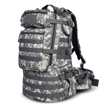 Military Camouflage Tactical Assault Molle 3 Day Backpack Hydration Pack Outdoor Sports Camping Hiking Survival Travel Bag