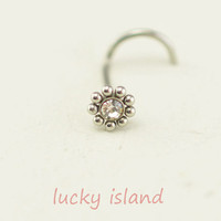 nose ring,sunflower nose ring,316L Surgical Steel Nose Rings,cute flower,friendship gift