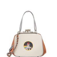 Coach 1941 Colorblock Rocket Shoulder Bag, White