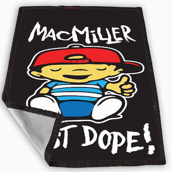 Mac Miller Most Dope Blanket for Kids Blanket, Fleece Blanket Cute and Awesome Blanket for your bedding, Blanket fleece **