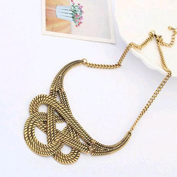 Chunky Luxurious Statement Necklace For Women