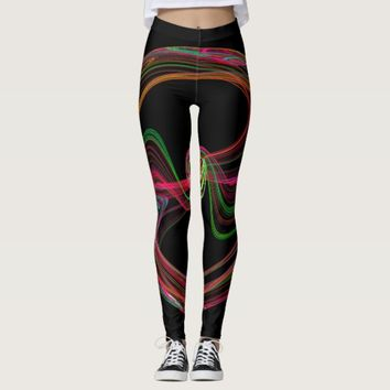Abstrakt Leggings