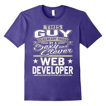 Web Developer Shirt Gift For Boyfriend Husband Fiance 1