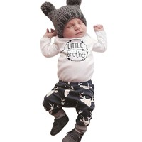 Newborn Baby Boy 2pcs Outfit Set