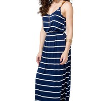 Braid Strap Stripe Maxi