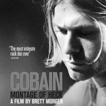 Kurt Cobain Montage Of Heck Poster Standup 4inx6in black and white