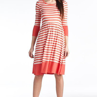 Stripe Jane Dress - 5 Colors SM Aqua