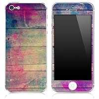 Washed Vintage Wood Pink Skin for the iPhone 3gs, 4/4s or 5/5s or 5c