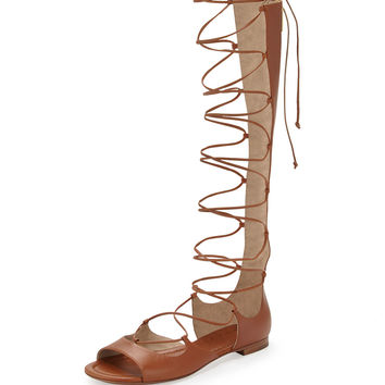 Birdie Tall Gladiator Sandal, Luggage
