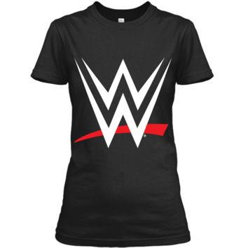 WWE Logo Graphic  Ladies Custom