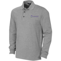Agape Family ChiropracticLong Sleeve Pique Knit Polo