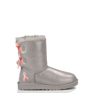 UGG® Official | Women's Shiny Bailey Bow Cancer Boot | UGGAustralia.com