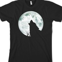 Black T-Shirt | Cool Wolf Moon Shirts