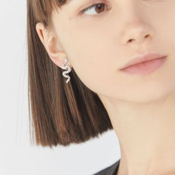 Mini Snake Post Earring | Urban Outfitters