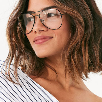 Vintage Deadstock Teacher Aviator Readers | Urban Outfitters