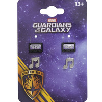 Marvel Guardians Of The Galaxy Cosmic Mix Music Note Earring Set