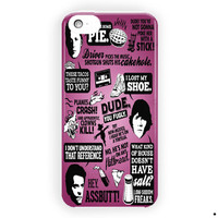 Supernatural Quote Collage For iPhone 5 / 5S / 5C Case
