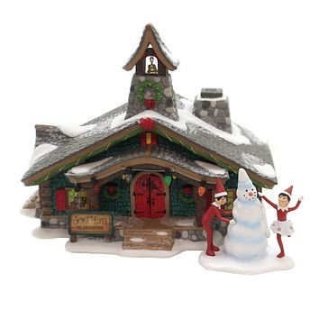 Department 56 House SCOUT ELVES IN TRAINING North Pole Elf On Shelf 6003113