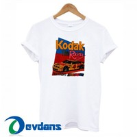 Kodak Retro T Shirt Women And Men Size S To 3XL