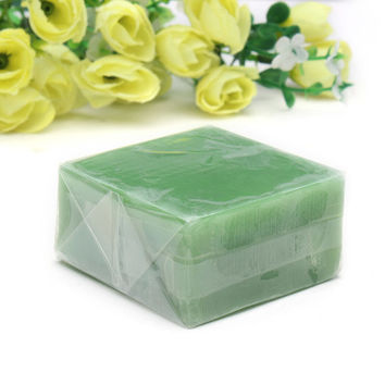 Green Handmade Tea Tree Essential Oil Soap Acne Treatment