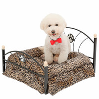 Domestic Delivery Luxury Pet Bed Cat Kennel Nest Dog Bed Sofa For Dogs Chihuahua Kitten House Puppy Furniture With High Quality