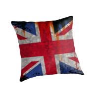Paint splattered UK Union flag by steveball
