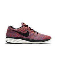 The Nike Flyknit Lunar 3 Women's Running Shoe.