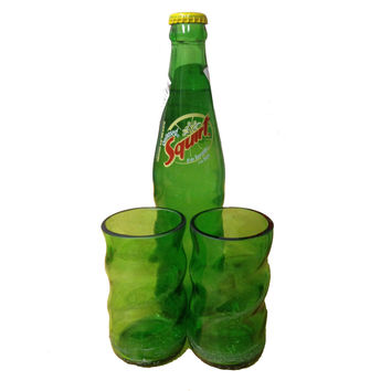 Recycled Mexico Squirt Bottles - Drinking Glasses