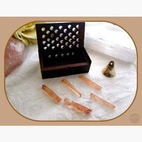 """Enhancer"" Strawberry Quartz Deluxe Travel Set"