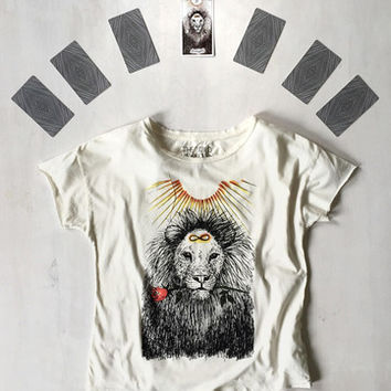 STRENGTH TEE | THE WILD UNKNOWN