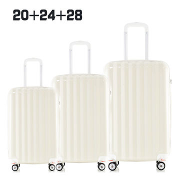 "XQ07-01 Women Men Luggage Superior Free Match 3pcs set (20""+24""+28"") Hard Shell Suitcase Set Rolling Luggage"